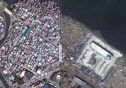 Daños originados por impacto de huracanes