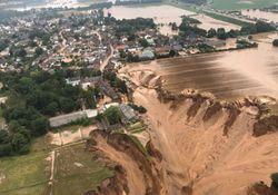 Las claves de las peores inundaciones en Alemania y Bélgica en décadas