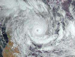 É comum ciclones tropicais no Índico Sul?