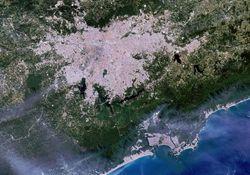 O efeito da brisa marítima na Grande São Paulo
