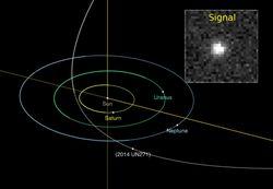 El asombroso descubrimiento de un enorme cometa
