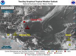 El Atlántico tropical se activa a mediados de junio de 2021