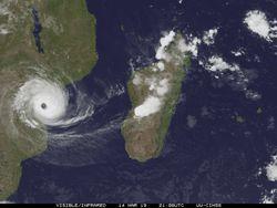 El ciclón tropical