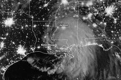 El huracán Ida golpea a Luisiana