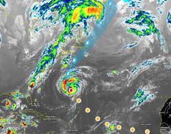 El huracán Larry se acerca a las Bermudas