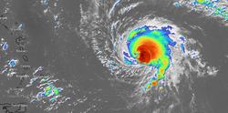 El huracán Sam ya con categoría 4 en el Atlántico tropical