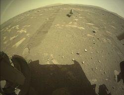 El minihelicóptero Ingenuity ya se encuentra solo en Marte