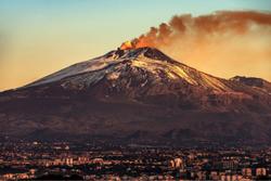 El Monte Etna de Sicilia ha crecido