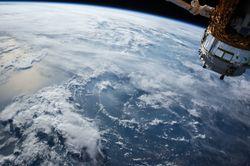 España en un satélite meteorológico de China