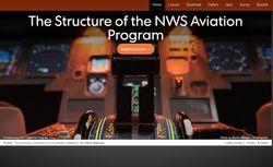Estructura y funciones del programa de aeronáutica del NWS