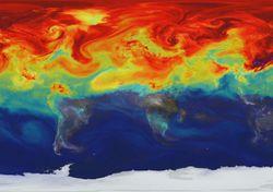 Los humanos afectan el equilibrio energético de la Tierra