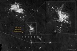 Experimentando con las luces nocturnas de Tucson
