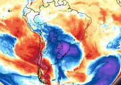 Fim de semana: ciclone extratropical e avanço de intensa massa de frio