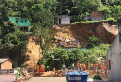 Fortes chuvas causam prejuízos e vítimas no Rio de Janeiro