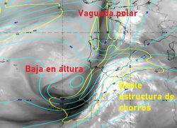 Fuerte señal de precipitaciones convectivas y tormentas para mañana