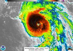 Furacão Michael devasta a Flórida