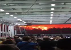Greece: Large fires engulf Evia island