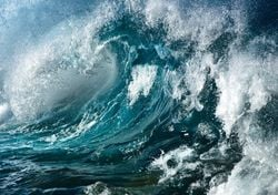 Hay olas cada vez más poderosas por el cambio climático