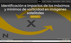 Identificación e impactos de los máximos y mínimos de vorticidad