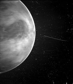 Impresionante imagen de Venus captada por la sonda Parker Solar