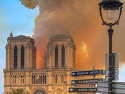 Otros incendios como el de Notre Dame a causa de rayos