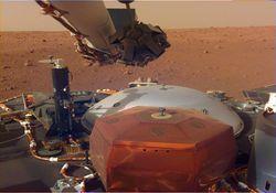 Inédito: así es el sonido del viento marciano