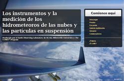 Los instrumentos y la medición de los hidrometeoros de las nubes
