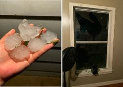 Fierce hailstorms in the US cost millions in damage