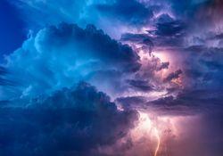 Intensas tormentas para el sur del Litoral