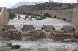 El último 'coletazo' de Leslie: lluvias torrenciales