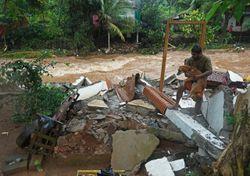 Inundaciones en Karela, India generan complicaciones