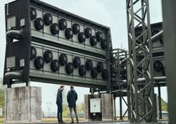 Instalan la máquina atrapa carbono más grande del mundo en Islandia