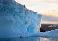 Encuentran en la Antártida un raro mineral que es común en Marte