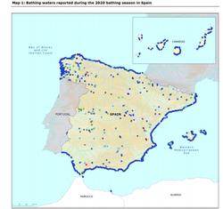 La calidad de las aguas europeas de baño: España una de las mejores