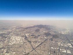 La Ciudad de México en plena temporada de ozono
