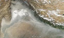 La contaminación del aire cuesta millones de dólares al año en India
