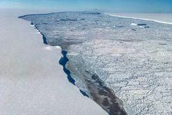 La inestabilidad de la capa de hielo de la Antártida