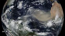 La NASA predice menos polvo sahariano en el futuro