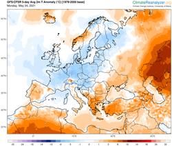 La primavera climatológica terminará con tiempo poco revuelto