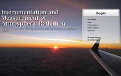 La radiación atmosférica e instrumentos de medida