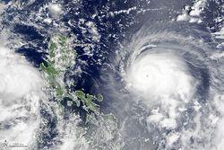 La sorprendente y rápida intensificación del tifón Chanthu