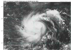 La tormenta tropical Felicia podría llegar a ser un huracán