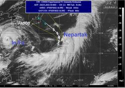 Tempête tropicale Nepartak : le Japon et les Jeux Olympiques menacés ?