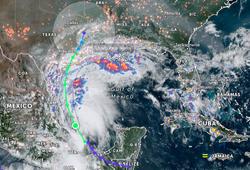 La tormenta tropical Nicholas se ha formado en el Golfo de México