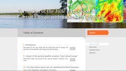 Las inundaciones de Junio de 2013 en Europa Central
