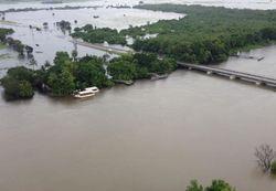 Lluvias torrenciales sobre estados del noroeste de México