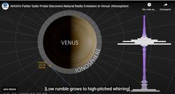 Los científicos sorprendidos por los impresionantes sonidos de Venus