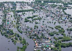 O número de pessoas que vive em zonas de inundação cresceu bastante