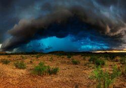Martes con fuertes tormentas como adelanto primaveral
