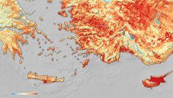 El Mediterráneo Oriental sufre una nueva ola de calor intensa